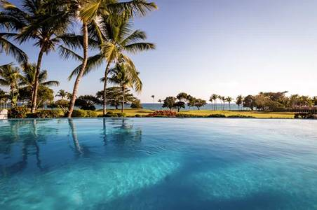 The view from the Villa Cielo Azul pool at Casa de Campo Resort & Villas.