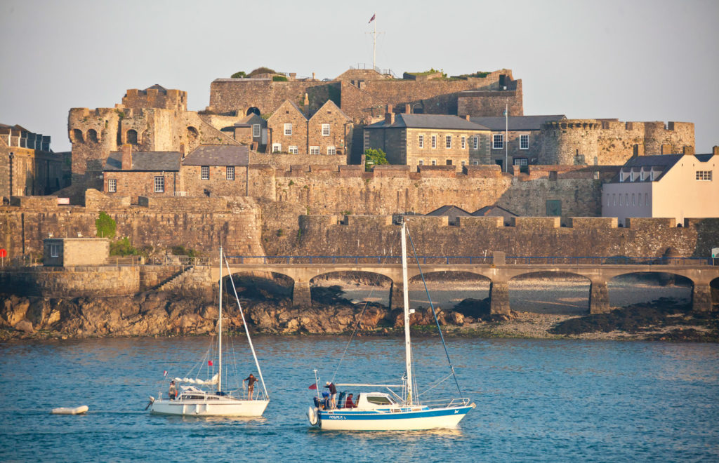Views of Castle Cornet. (Photo courtesy of VisitGuernsey.)