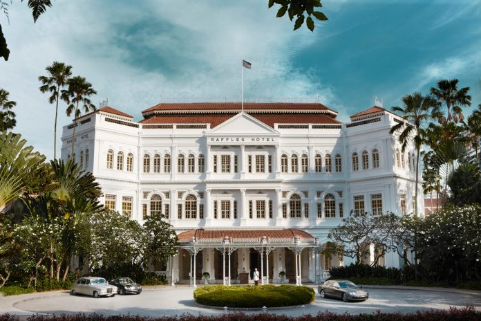 Raffles Singapore will reopen in the first quarter of 2019.