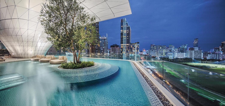 Views From The Waldorf Astoria Bangkok Pool