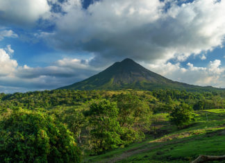"Costa Rica is one of several destinations highlighted in Central Holidays' ""Top Ten Destinations"" brochure."