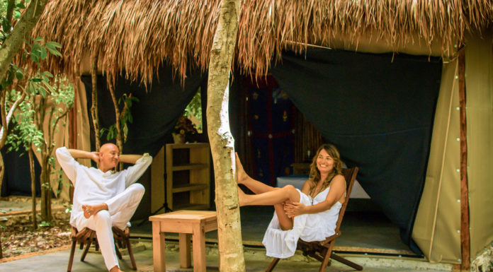 glamping in quintana roo
