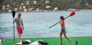 Windstar Cruises offers all manner of ways for clients to stay active.