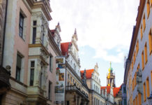 Strolling through Dresden's historic center. (Paloma Villaverde de Rico 4)