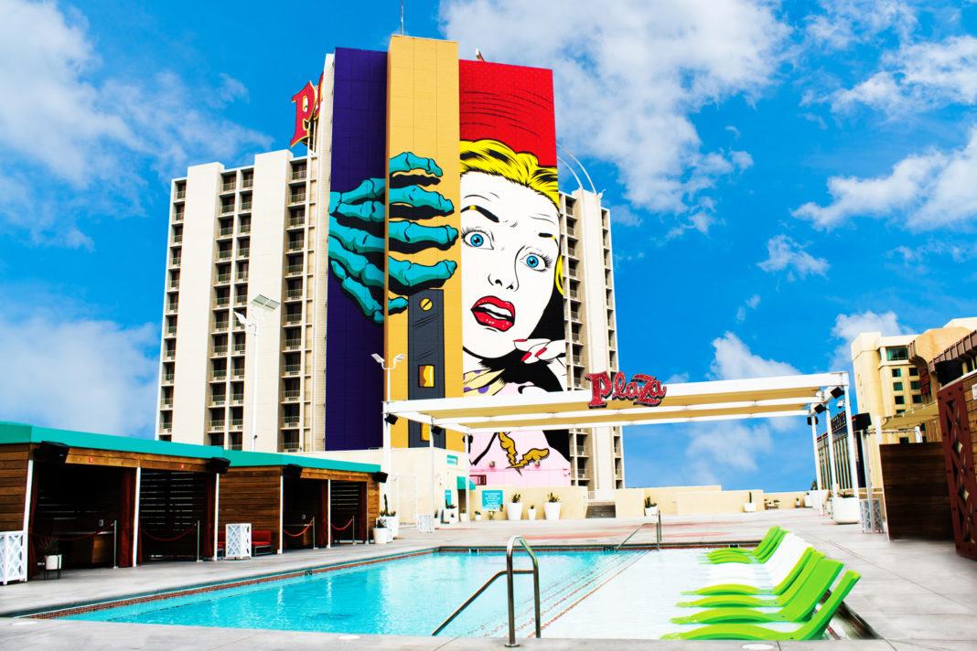 Pool at Plaza Hotel & Casino