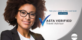 ASTA Verified Travel Advisor (