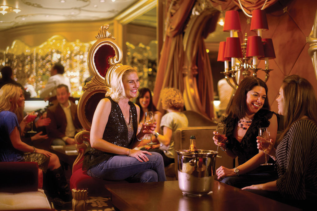 "Disney Cruise Line offers adults-only areas so parents can have some ""me"" time."