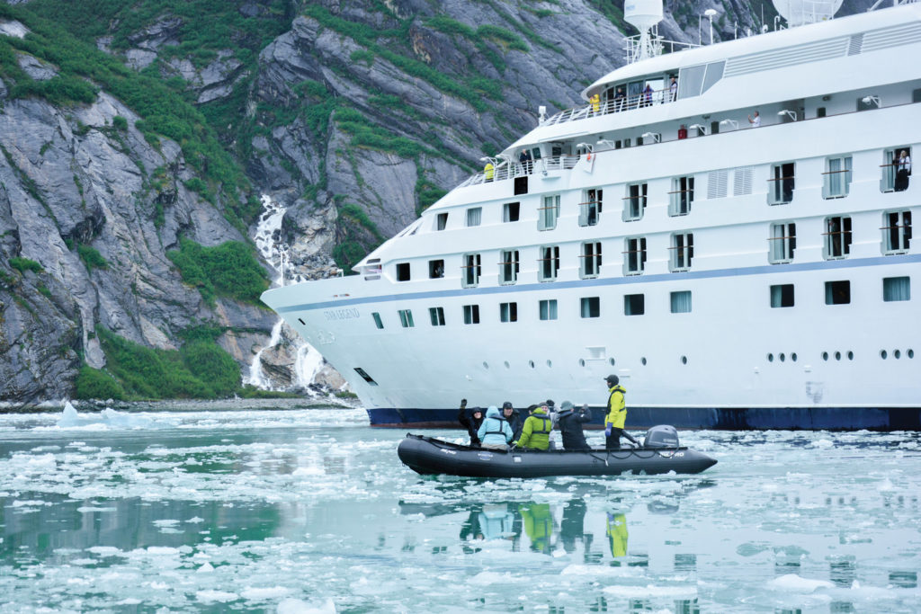 Windstar Cruises offers a Signature Expeditions program in Alaska