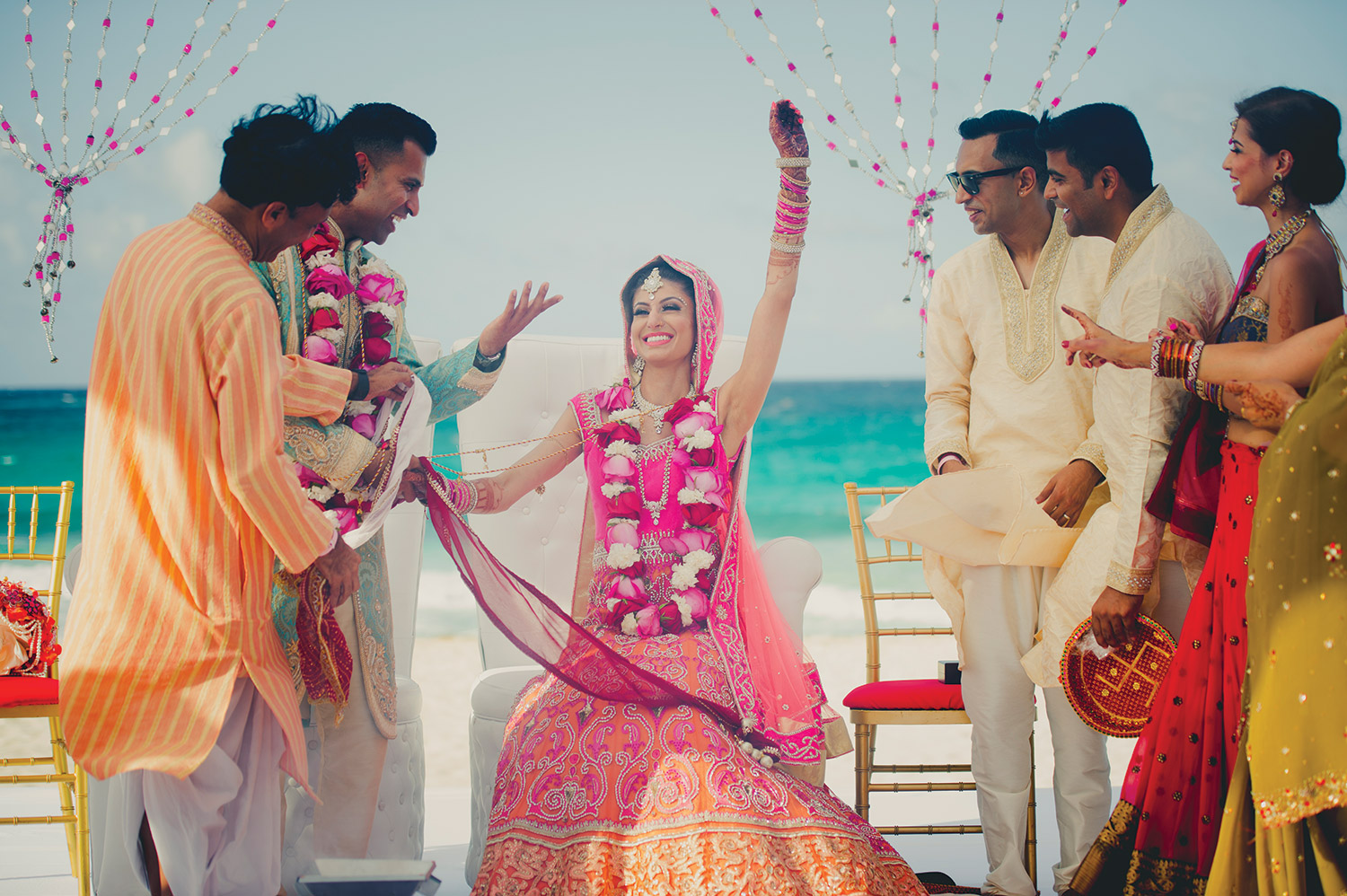 Hard Rock Hotels WOW Clients with Destination Indian Wedding