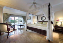Jr. suite accommodations at the TRS Turquesa by Palladium in Punta Cana.