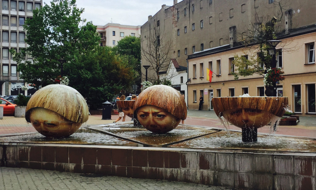 Quirky art in Lodz. (Paloma Villaverde de Rico)