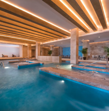 The resort is home to a 17,000-sq.-ft. spa.