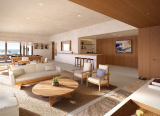Suite accommodations at Nobu Los Cabos.