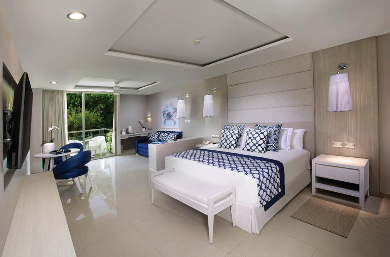 Newly refreshed suites at Grand Sirenis Riviera Maya.