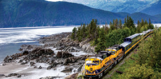 Alaska Railroad continuously upping the ante with new offerings, experiencing the state via rail is equally appealing.