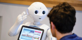 Pepper is a social humanoid robot being tested by Amadeus and TUI Germany.