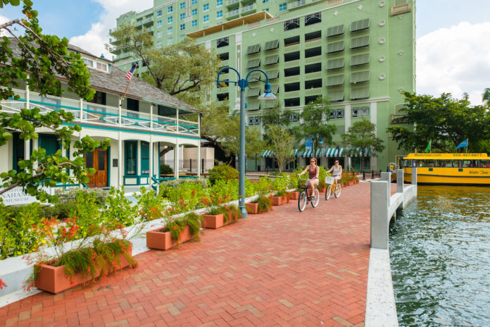 Fort Lauderdale's Riverwalk Arts & Entertainment District