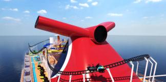 Carnival Cruise Line BOLT Roller Coaster