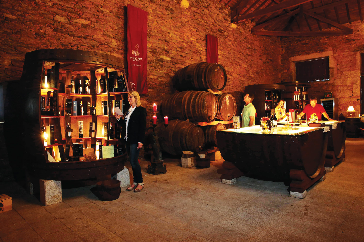 AmaWaterways offers wine tasting excursions in Portugal.