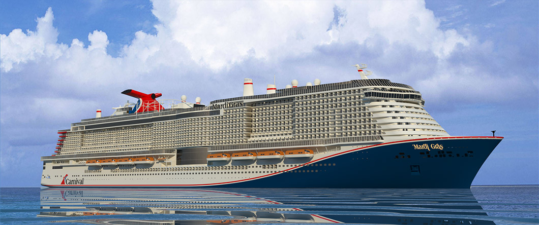 name announced for largest carnival ship ever constructed recommend