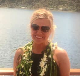 Tammy Parran while in Tahiti Iti—a new destination for Paul Gauguin Cruises.