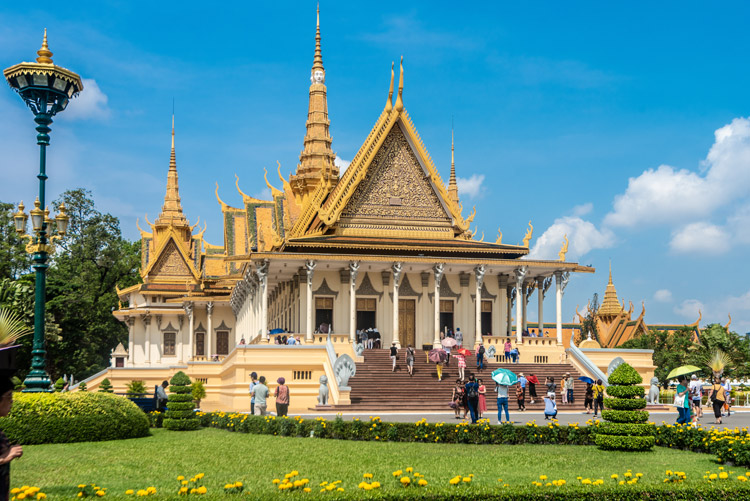 Le Royal in Phnom Penh