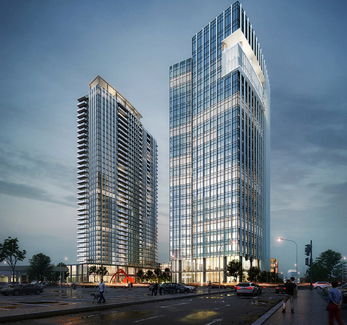 New Conrad Hilton will be part of Broadwest area of Nashville.