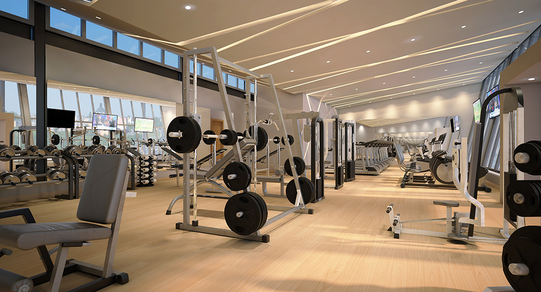 Sonesta Ocean Point Resort great place to work out