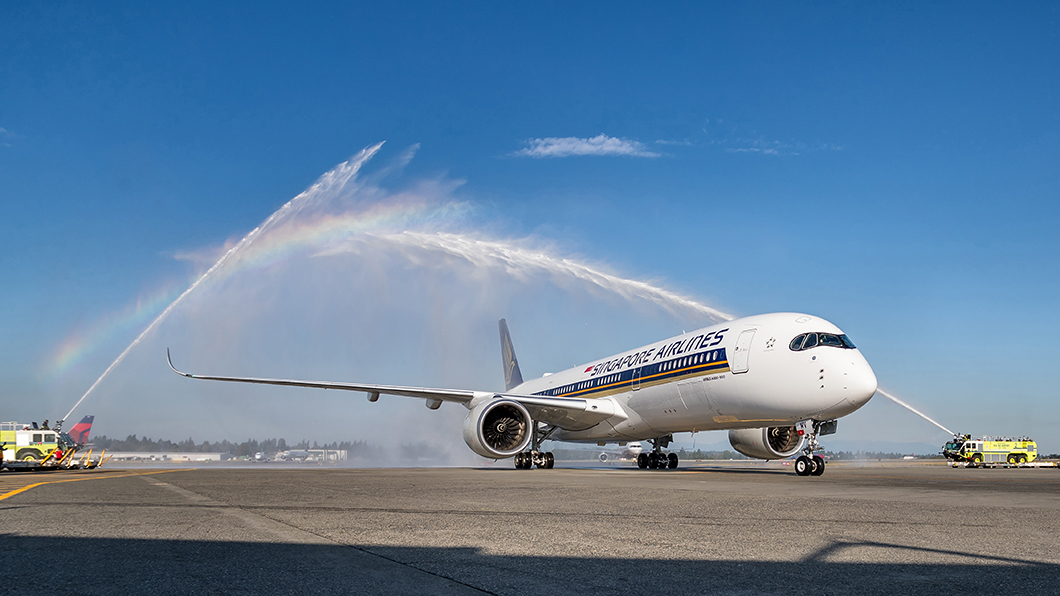 Singapore Airlines flies nonstop from Seattle