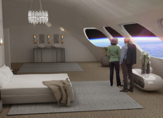 , the Von Braun Station, a hotel that will float among the stars
