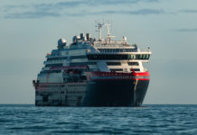 Hurtigruten launches first hybrid electric-powered expedition ship.