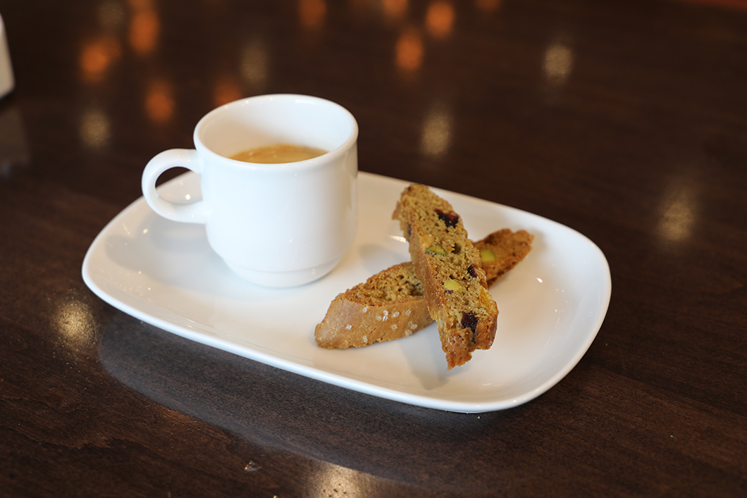 Due by Dolce, its new signature biscotti program.