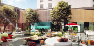 Virgin Hotels Dallas will feature the Pool Club on the fourth floor.