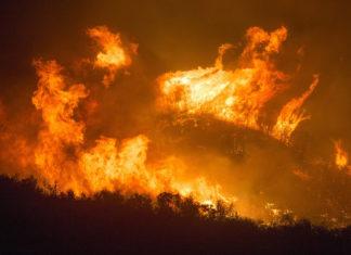 California fires.