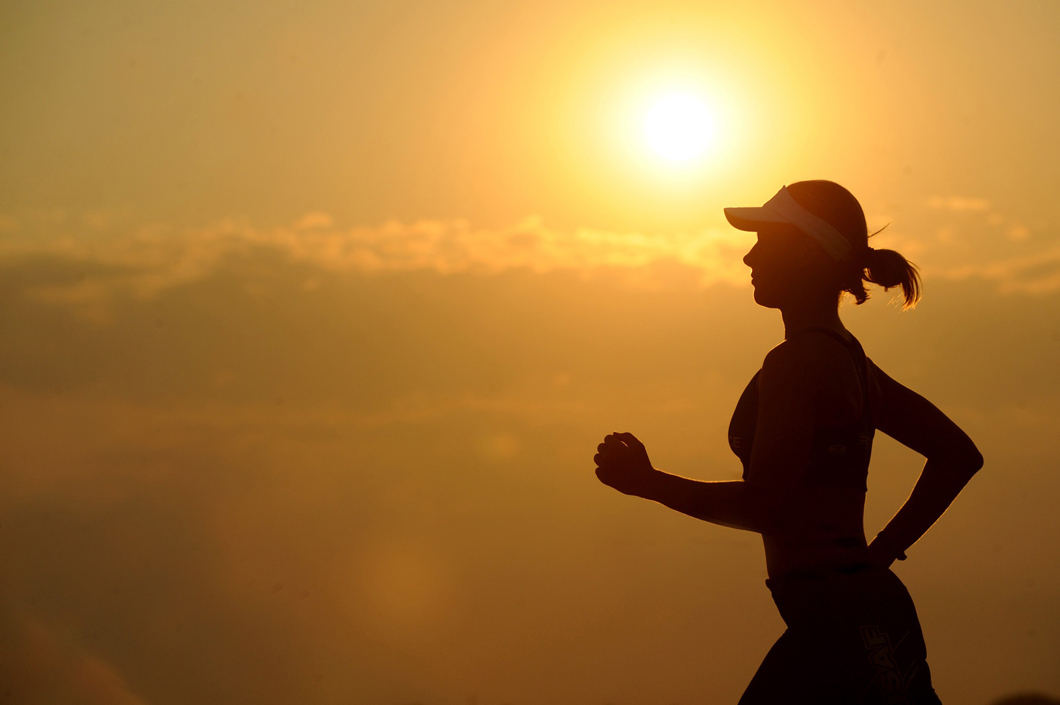 Kenyan Marathoner