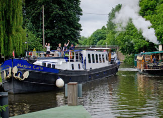 European Waterways hotel barge charters perfect for families