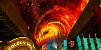Fremont Street Experience Introduces Multi-Sensory Show and Upgraded Viva Vision Canopy (credit Black Raven Films for Fremont Street Experience)