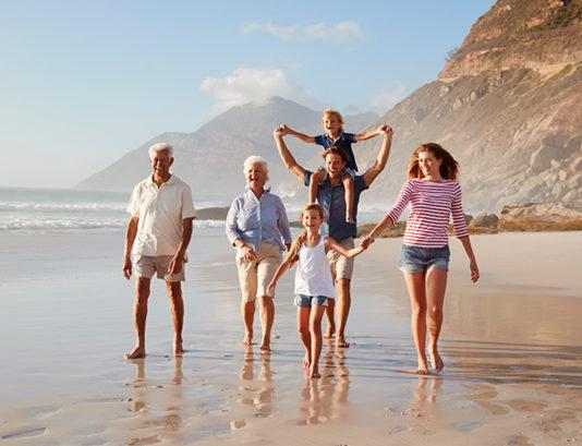 multi-gen family travel