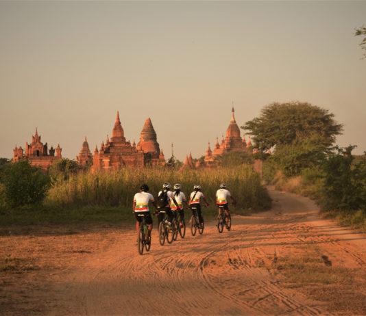 Cycling Through Asia