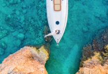 Sailing into paradise in Anguilla (Anguilla Tourist Board).