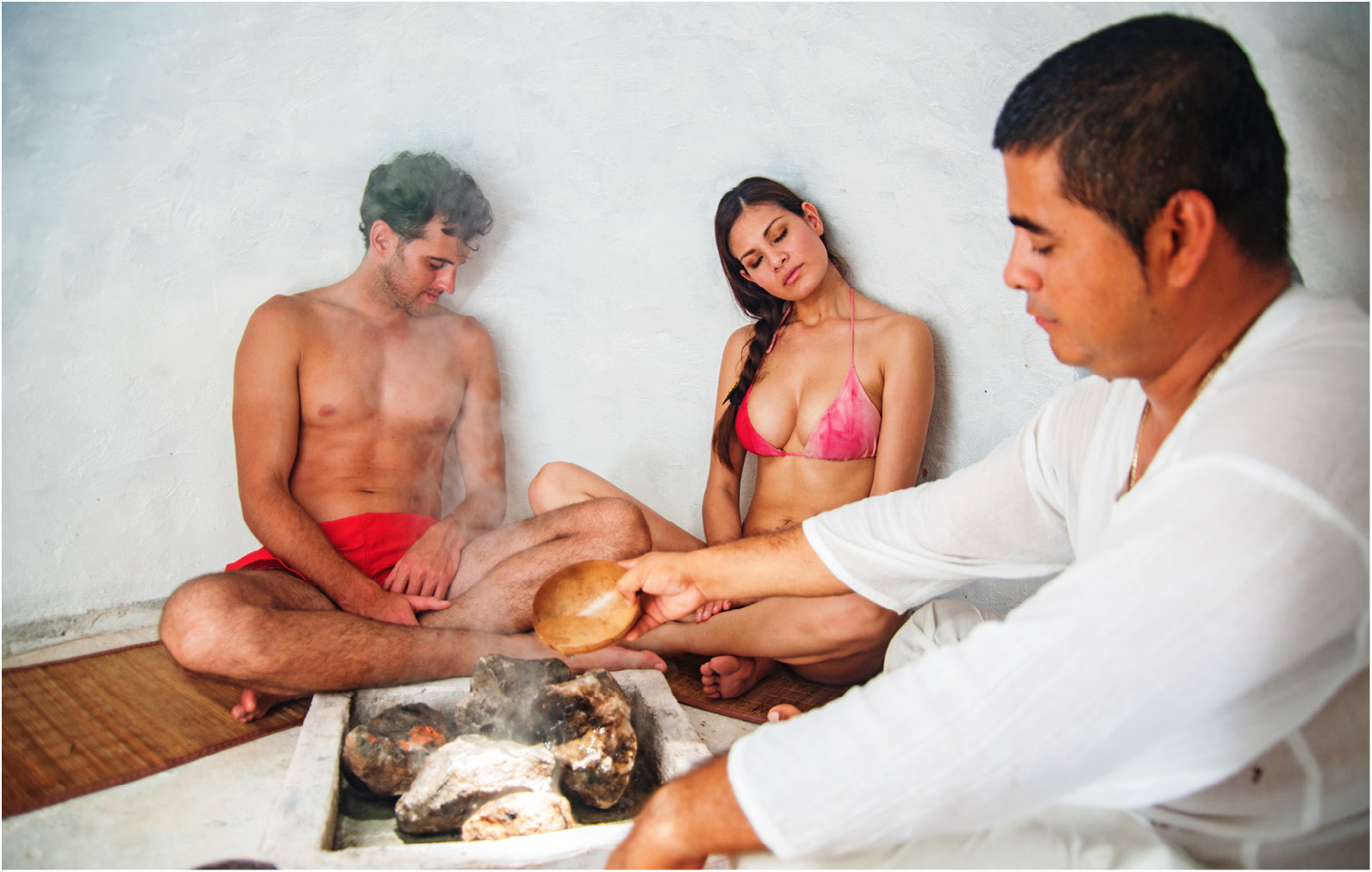 Private spa session at Posadas' The Explorean Kohunlich in Quintana Roo.